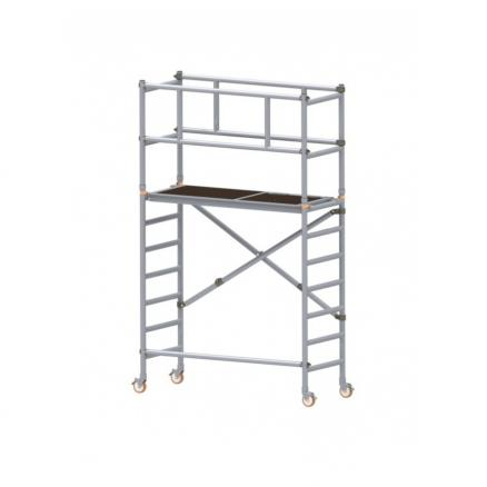 TORRE ANDAMIO ALUMINIO PACK 2 (+ PACK1 ALTURA TRABAJO 3,80 MTS. )
